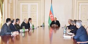 Под председательством Ильхама Алиева состоялось заседание Совета безопасности